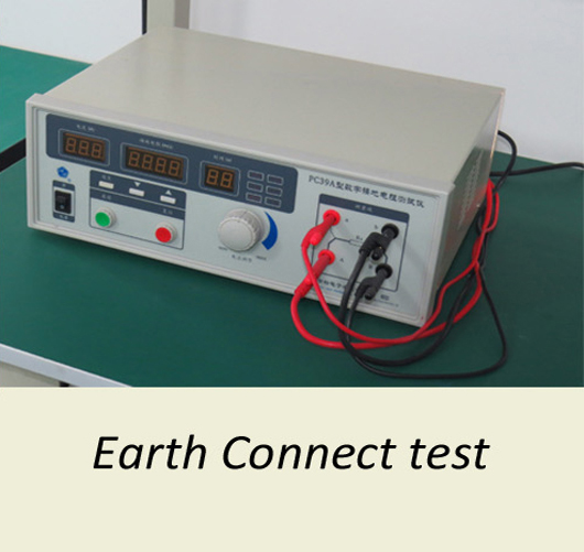 Earth connect test