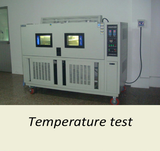 Temperature test